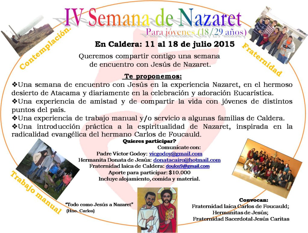 convocatoria-iv-semana-de-nazaret-chile-julio-2015